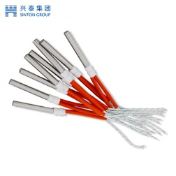 Single head electric heating tube