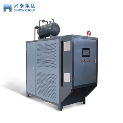Electromagnetic heat conduction oil furnace
