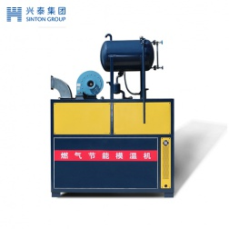 Gas fired mould heater