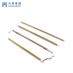 Gold Plated quartz electric heating tube