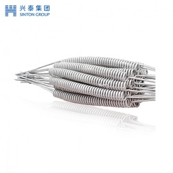 Fe Cr Al resistance wire spiral high temperature resistance wire