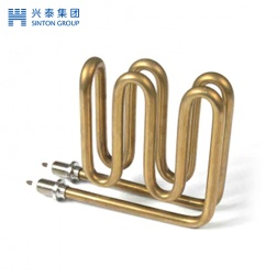 Double layer electric heating tube